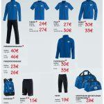 Preisliste Vereinskleidung