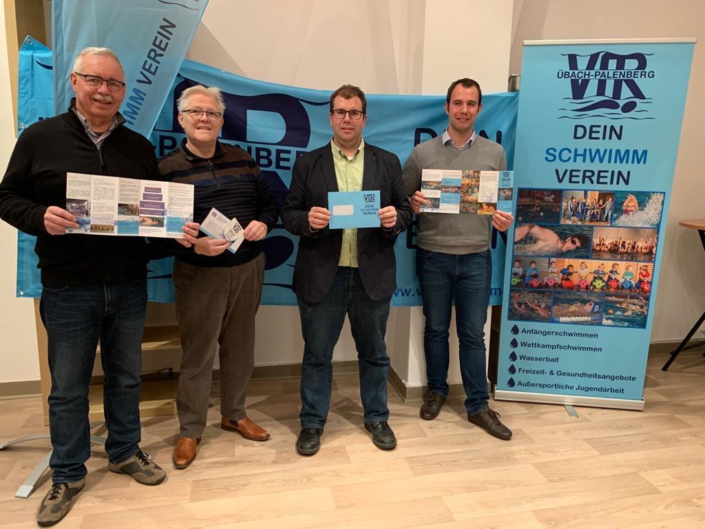 Arbeitsgruppe: Manfred Ehmig, Herbert Latatser, Tim Böven und Jens Böven
