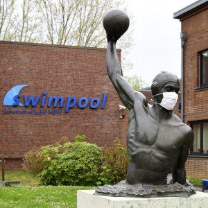 Wasserball mit Mu-Na Schutz
